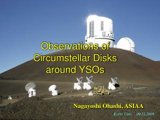 Observations of  Circumstellar Disks around YSOs