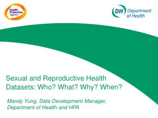 Sexual and Reproductive Health Datasets: Who? What? Why? When?