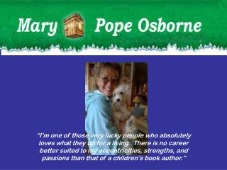 All About Mary Pope Osborne