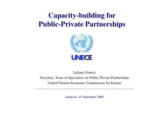Capacity-building for  Public-Private Partnerships