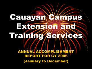 Cauayan Campus Extension and Training Services
