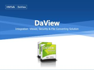 Integration  Viewer, Security & File Converting Solution