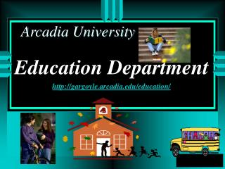 Education Department gargoyle.arcadia/education/