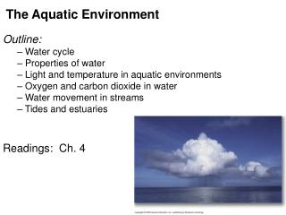 The Aquatic Environment