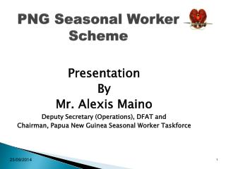 PNG Seasonal Worker Scheme