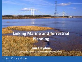Linking Marine and Terrestrial Planning