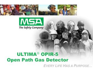 ULTIMA ®  OPIR-5  Open Path Gas Detector
