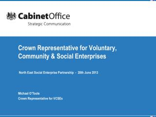 Crown Representative for Voluntary, Community & Social Enterprises