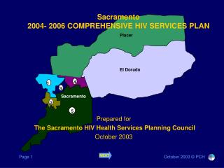 Sacramento 2004- 2006 COMPREHENSIVE HIV SERVICES PLAN