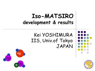 Iso-MATSIRO development & results