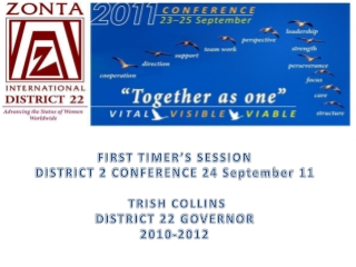 What is the Zonta District Board
