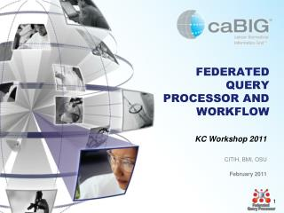 FEDERATED QUERY PROCESSOR AND WORKFLOW