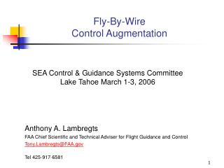 Fly-By-Wire Control Augmentation