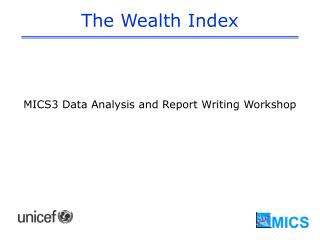 The Wealth Index