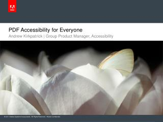 PDF Accessibility for Everyone