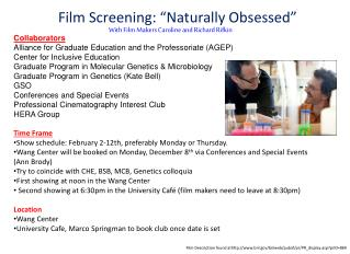 "Film Screening: ""Naturally Obsessed"""