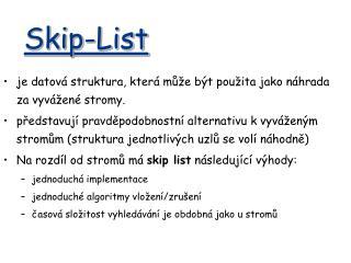 Skip-List