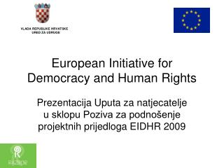 European Initiative for Democracy and Human Rights
