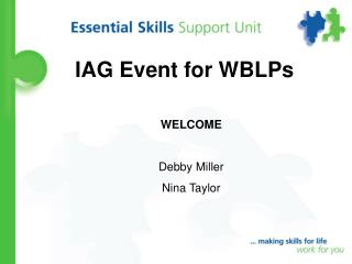 IAG Event for WBLPs