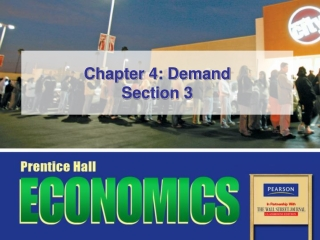 Chapter 2 Demand and Total Revenue