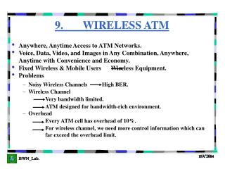 9.       WIRELESS ATM