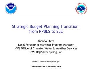 Strategic Budget Planning Transition: from PPBES to SEE