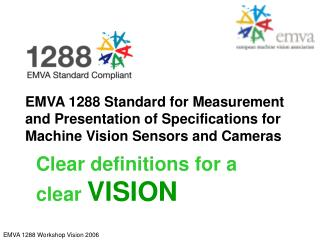 Clear definitions for a clear VISION