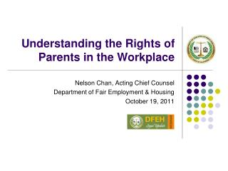 Understanding the Rights of Parents in the Workplace