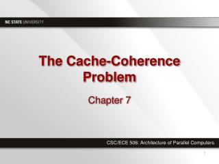 The Cache-Coherence Problem