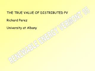 RENEWABLE ENERGY VERMONT 05