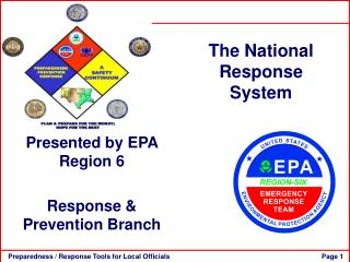 The National Response System