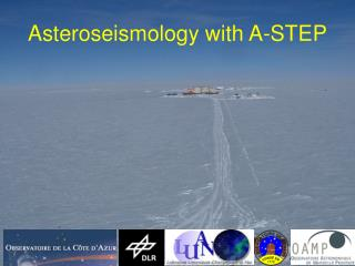 Asteroseismology with A-STEP