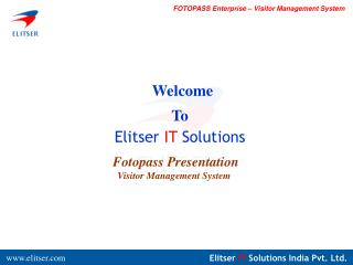 Welcome To  Elitser  IT  Solutions