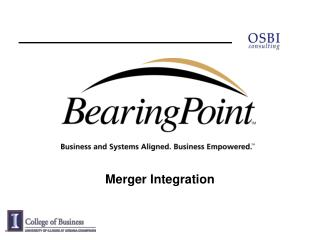 Merger Integration