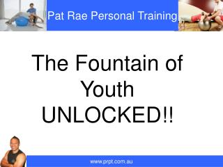 The Fountain of Youth UNLOCKED!!