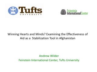 Andrew Wilder Feinstein International Center, Tufts University