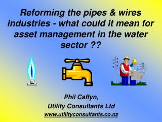 Phil Caffyn, Utility Consultants Ltd utilityconsultants