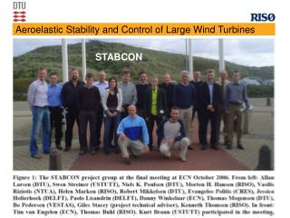 Aeroelastic Stability and Control of Large Wind Turbines