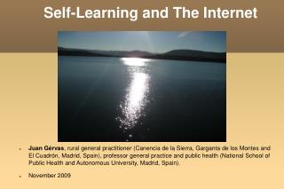 Self-Learning and The Internet