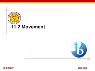 11.2 Movement