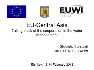 EU-Central Asia  Taking stock of the cooperation in the water management