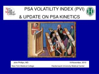 PSA VOLATILITY INDEX (PVI)  & UPDATE ON PSA KINETICS
