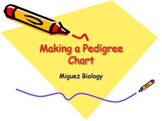 Making a Pedigree Chart
