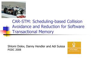 CAR-STM: Scheduling-based Collision  Avoidance and Reduction for Software Transactional Memory