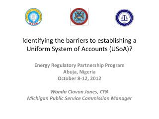 Identifying the barriers to establishing a Uniform System of Accounts (USoA)?