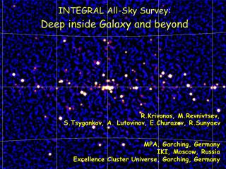 INTEGRAL All-Sky Survey: Deep inside Galaxy and beyond