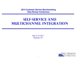 Self-service and MultiChannel Integration