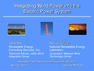 Integrating Wind Power into the Electric Power System
