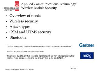 Applied Communications Technology Wireless Mobile Security