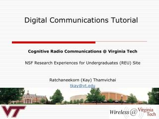 Digital Communications Tutorial